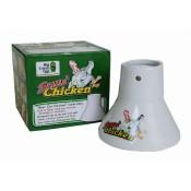 Керамический держатель для курицы Big Green Egg Sittin' Chicken™ Ceramic Roaster
