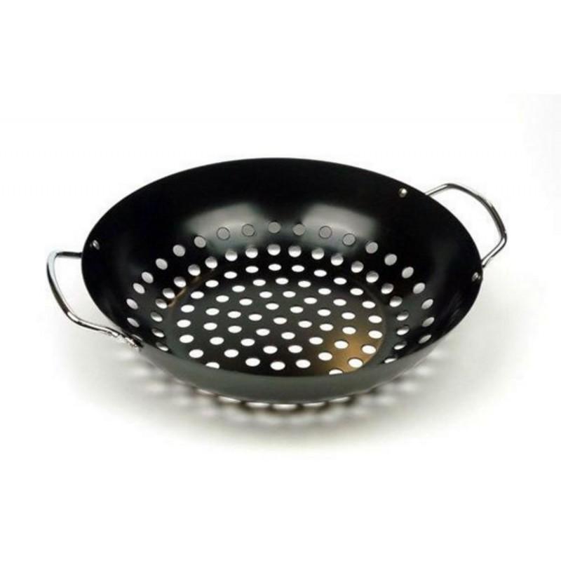 Поддон круглый перфорированный Big Green Egg Round Grill Wok