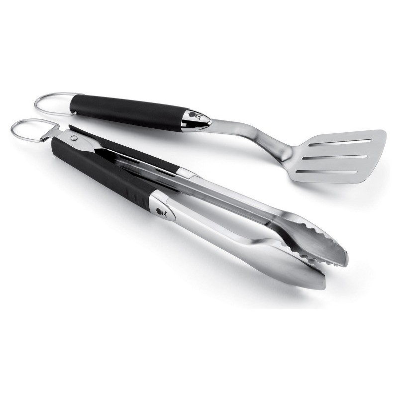 Набор инструментов для гриля (2 шт.) Weber Stainless Steel Two-Piece Portable Tool Set