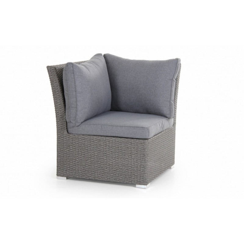 Угол плетеный Brafab CALLAS Цвет: серый