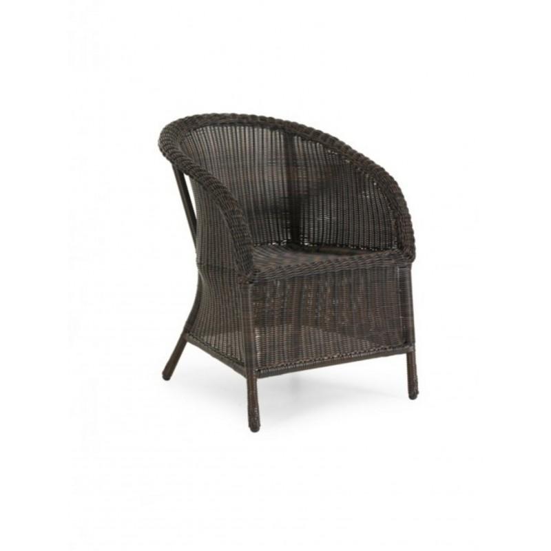 Кресло плетеное Brafab MAGDA BROWN