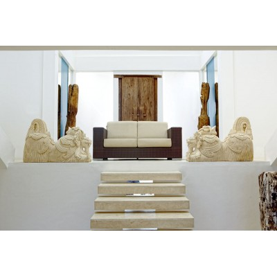 Skyline Design CUATRO 2012 RED PULUT Диван с подушками
