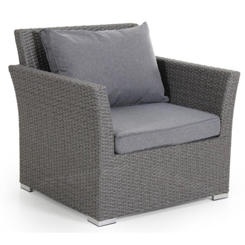Кресло плетеное Brafab CALLAS Цвет: серый