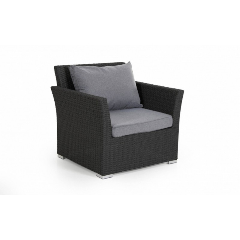Кресло плетеное Brafab CALLAS Цвет: черный
