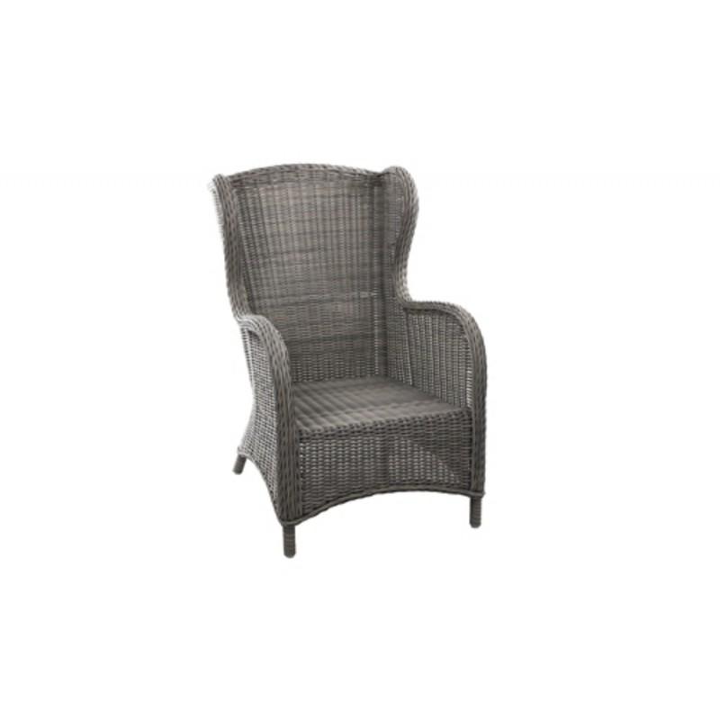 Кресло плетеное Brafab EVITA GREY