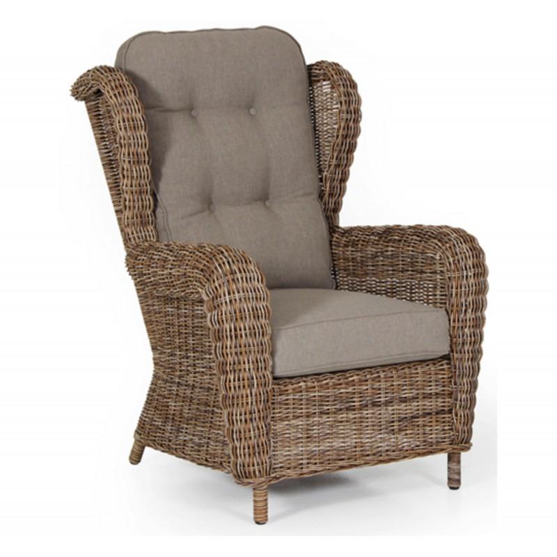 Кресло плетеное Brafab EVITA MIX