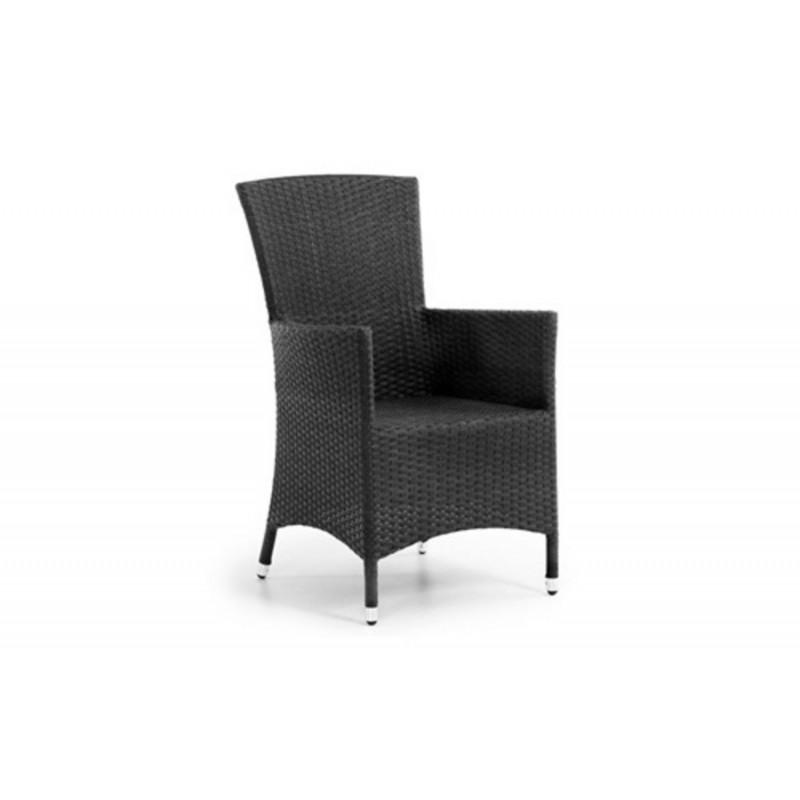 Кресло плетеное Brafab NINJA BLACK
