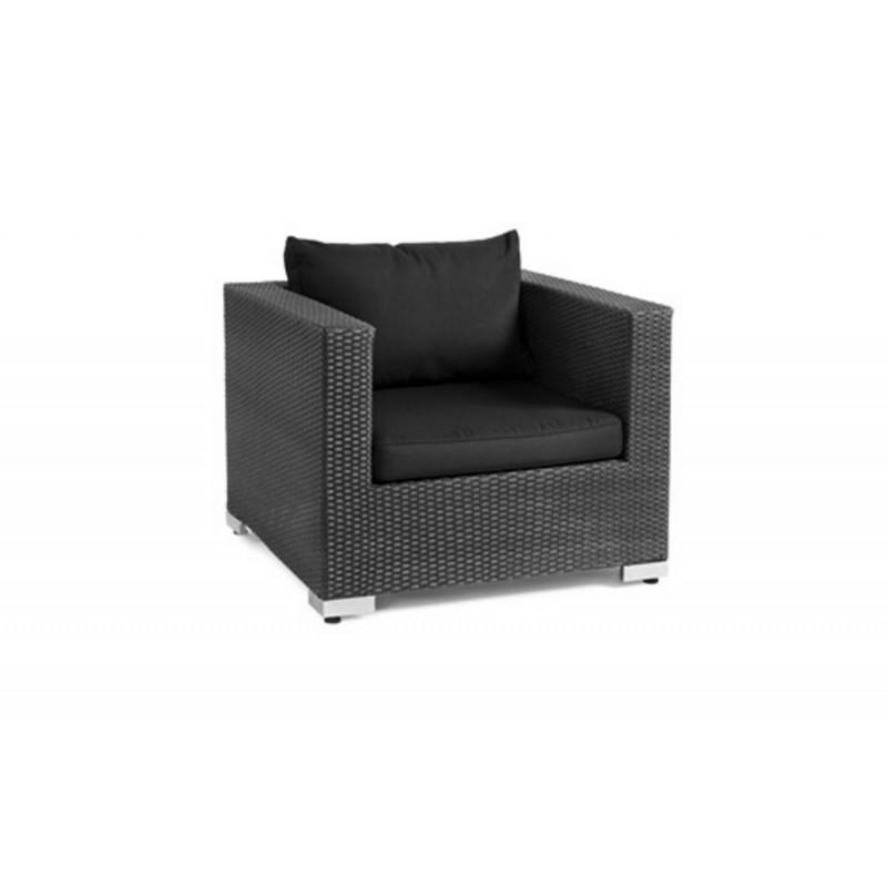 Кресло плетеное Brafab OLYMPIA BLACK