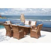 Кресло с подушками для стола Skyline Design EBONY 22554
