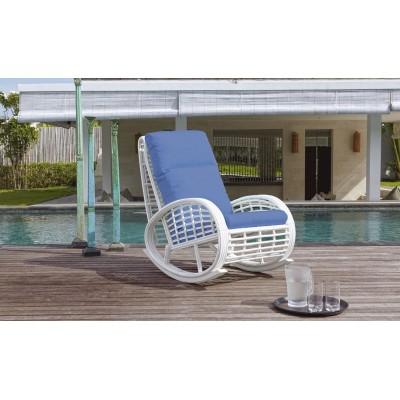Кресло качалка с подушками Skyline Design TAURUS 22858