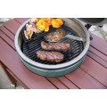 Второй уровень с поддоном Big Green Egg Half Moon Raised Grid (Medium Egg)