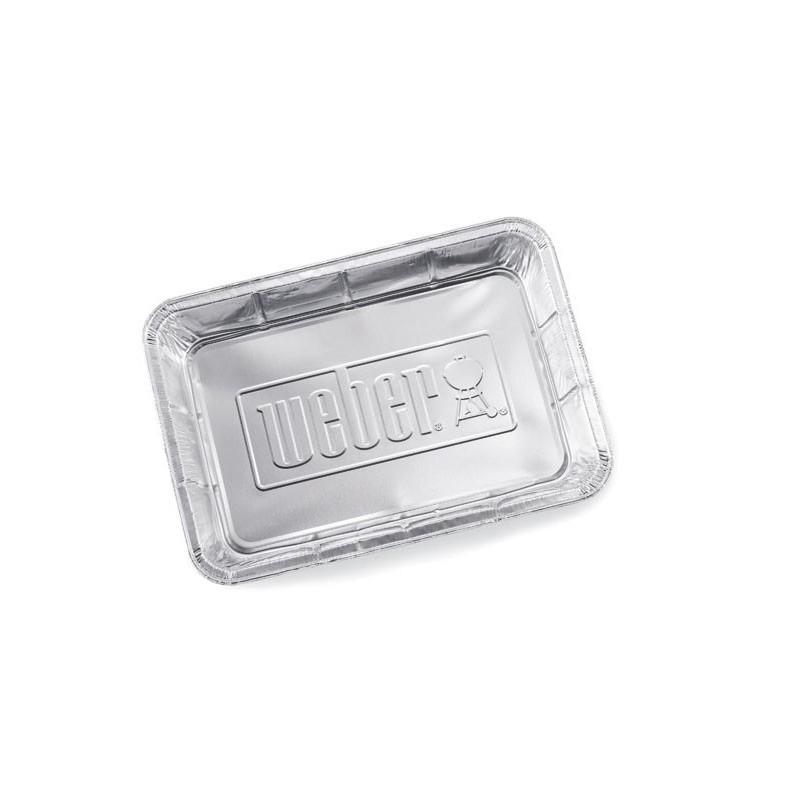 Поддон для жира алюминиевый большой (10 шт.) Weber Large Drip Pans