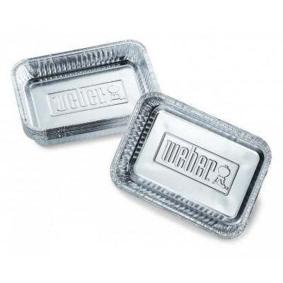 Поддон для жира алюминиевый малый (10 шт.) Weber Small Drip Pans