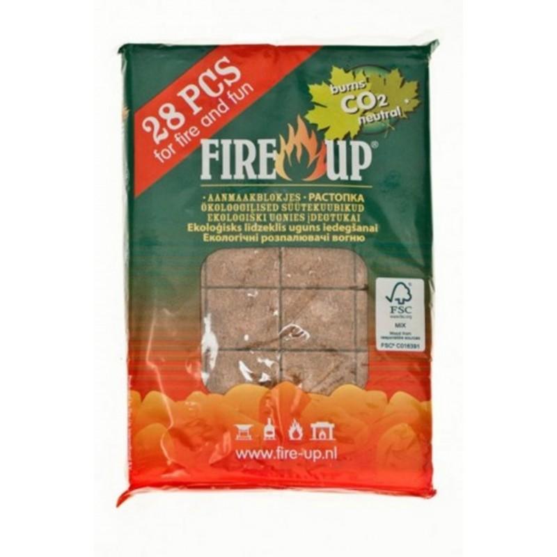 Брикеты для розжига Big Green Egg Fire Up (28 таб.)