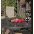 """Набор садовой мебели из литого алюминия """"ЭТНА"""" стол с барбекю на четыре персоны"""