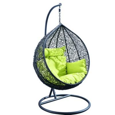 Плетеное подвесное кресло из ротанга BAZU