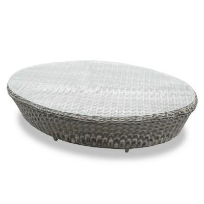 Плетеный кофейный стол DIAMOND
