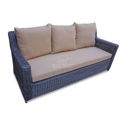 Плетеный диван SUNSTONE 3-х местный