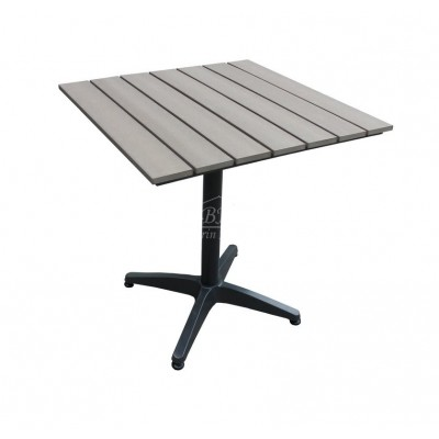 Алюминиевый стол MILANO 70 см