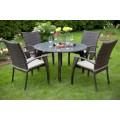 MONACO коричневый Комплект садовой мебели