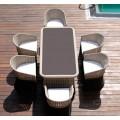 Комплект мебели из ротанга CROCODILE-202140 обеденная группа