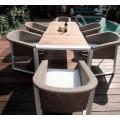 Комплект мебели из ротанга TESNO обеденная группа