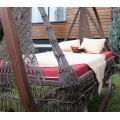 Подвесные качели кровать МАРРАКЕШ для двоих + каркас