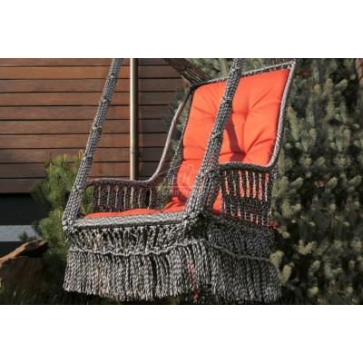 Подвесное кресло качели ИНКА в комплекте с подушкой