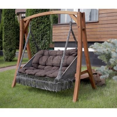 Деревянный каркас VILLA для подвесного кресла FORTALEZA и качелей VILLA