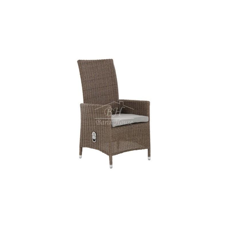 Кресло плетеное регулируемое Brafab NINJA NATUR