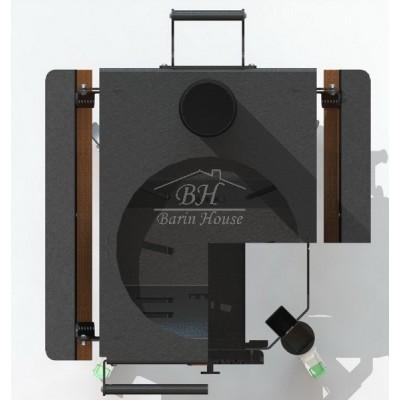 Печь для казана SMAGA D2 (поперечный рассекатель)