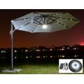 Уличный зонт с LED подсветкой TORINO LUX
