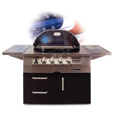 Гриль Primo OVAL Газовый (только голова, для встройки)