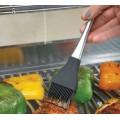 Кисть кулинарная силиконовая Napoleon (ручка из нержавеющей стали)