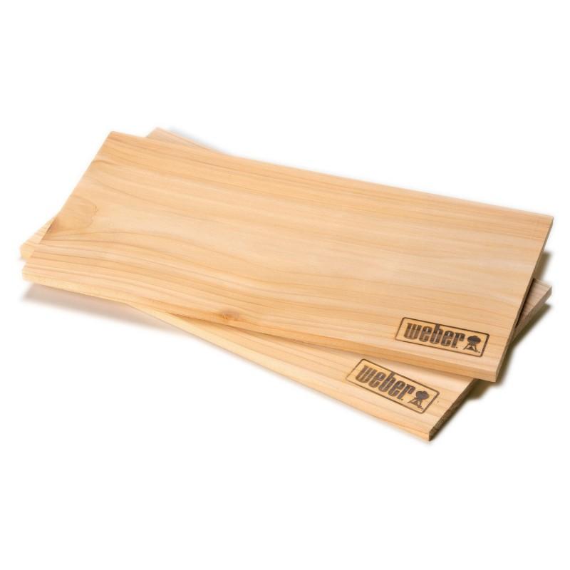 Доски для копчения кедровые (2 шт.) Weber FIRESPICE® CEDAR PLANKS