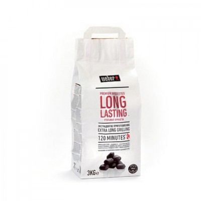 Угольные брикеты Weber LONG LASTING (3 кг)