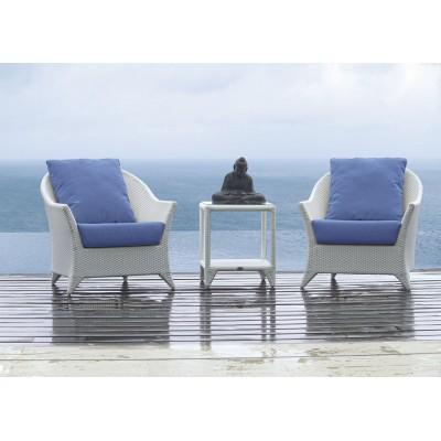 Кресло с подушкой Skyline Design MALTA 2021 SHIMMER VIOLA