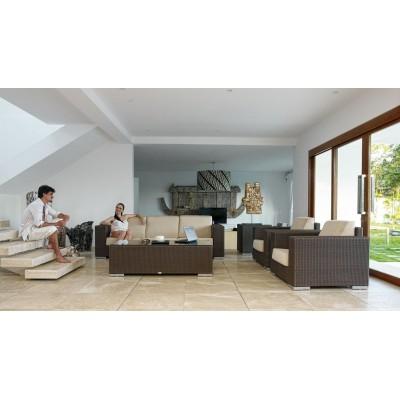 Стол приставной со стеклом Skyline Design CUATRO 2015