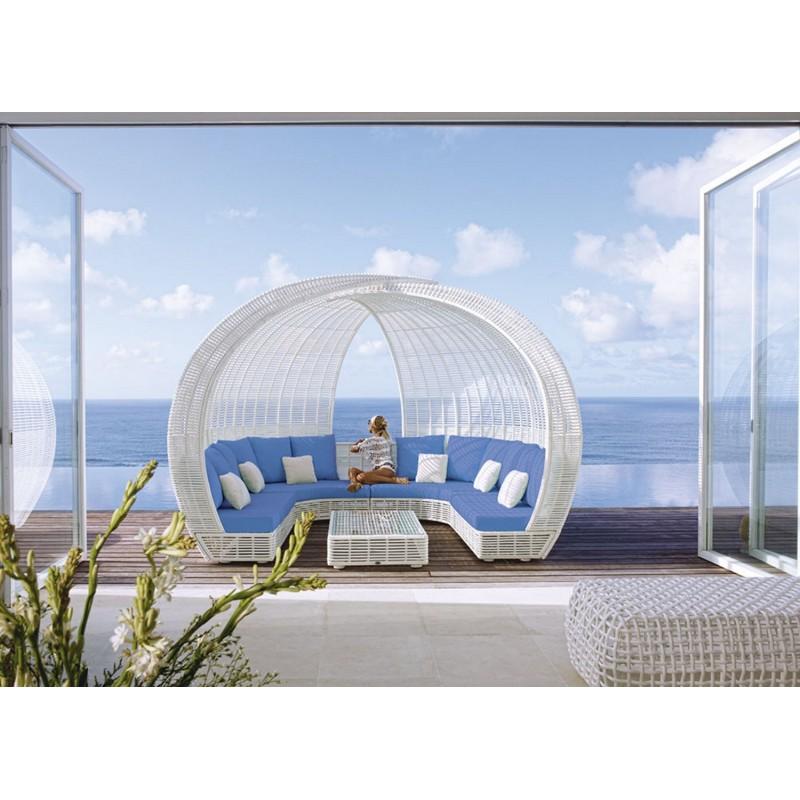 Стол журнальный со стеклом Skyline Design SPARTAN 84872