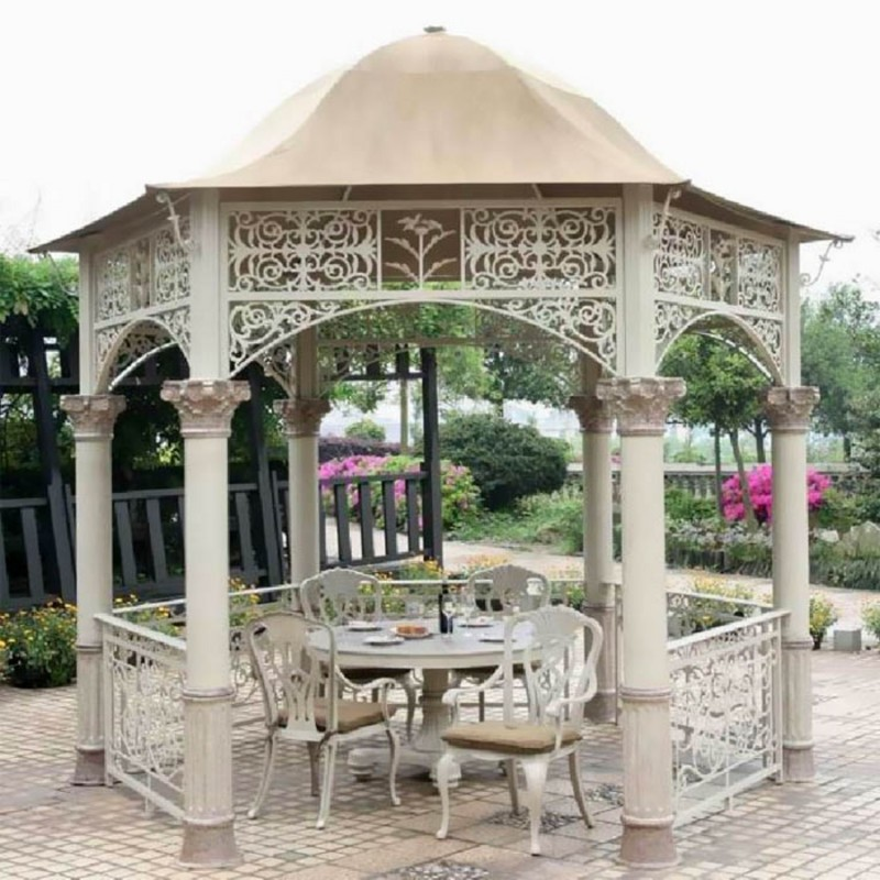 Беседка Вишневый садъ на колоннах