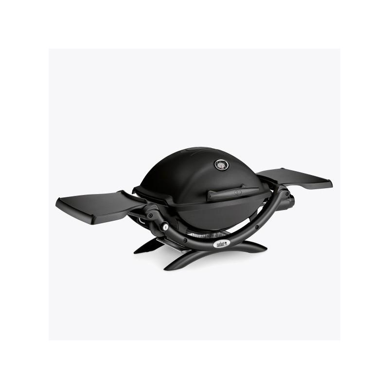 Гриль газовый Weber Q 1200 Black Line, черный