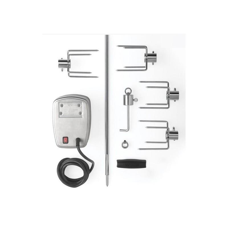 Вертел с 4-мя зажимами и электромотором Napoleon для газовых грилей Napoleon-600/605/730