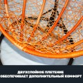 Плетеные качели KVIMOL малая корзина ORANGE