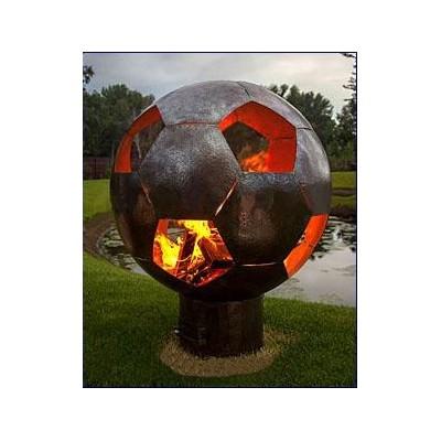 """Сфера для огня """"Футбол"""" (лого клуба под заказ)"""