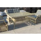 Плетеный стол OSLO