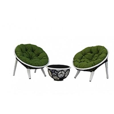 Кресло для отдыха и пуфик Вена