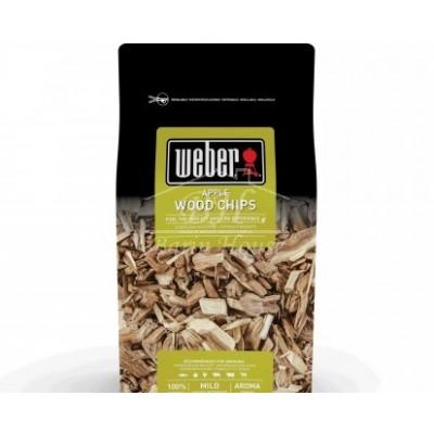 Щепа для копчения Weber Яблоко 700г.