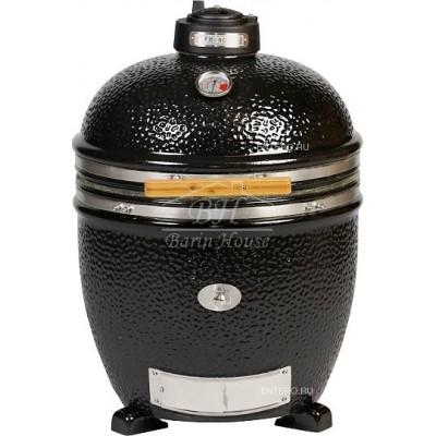 Керамический гриль Monolith Grill black (черный) JUNIOR