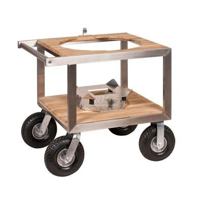 Buggy - тележка для газона, с большими колёсами и амортизаторами