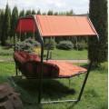 Подвесной гамак качели ДАЙМОНД (цвет оранжевый)